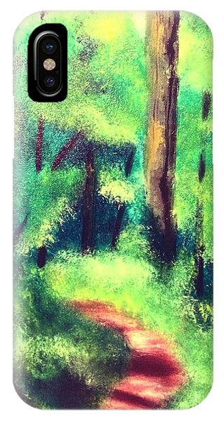 Forest Path IPhone Case