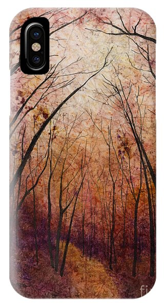 Path iPhone Case - Forest Path by Hailey E Herrera