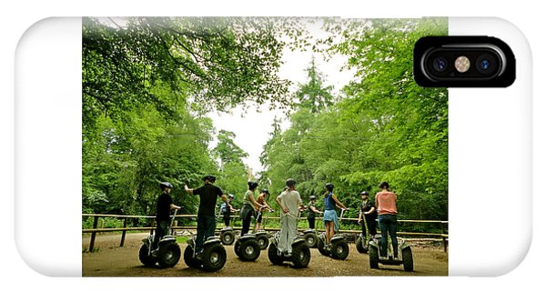 Forest Segway IPhone Case
