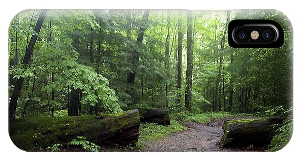 Forest Setting Smoky Mountains National Park IPhone Case
