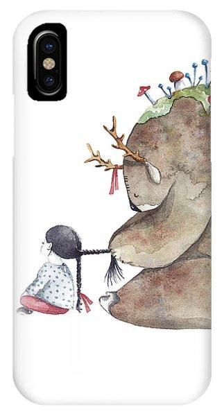 Love iPhone Case - Forest Spirit by Soosh