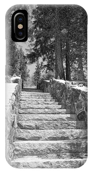 Forest Stairway IPhone Case