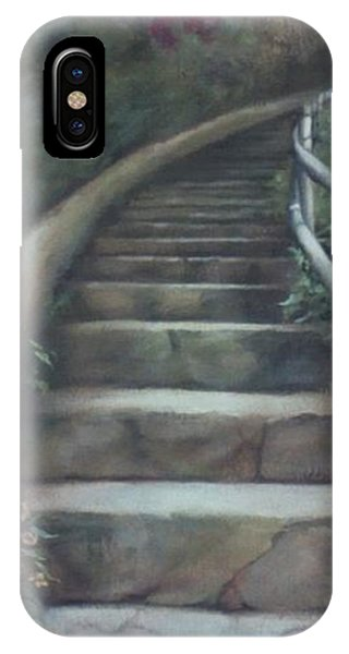 Forest Stairway Up  IPhone Case