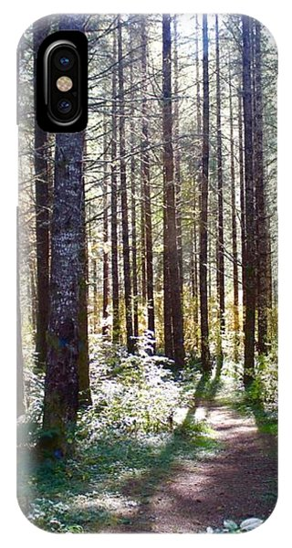 Forest Stroll IPhone Case