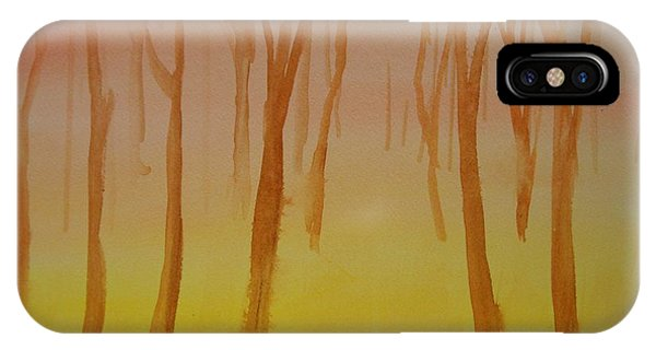 Forest Study IPhone Case