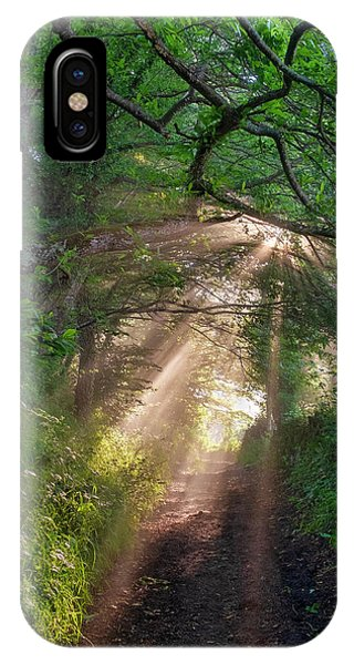 IPhone Case featuring the photograph Forest Trail by Fabrizio Troiani