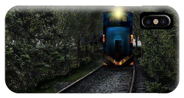 Forest Train IPhone Case