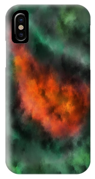 Forest Under Fire IPhone Case
