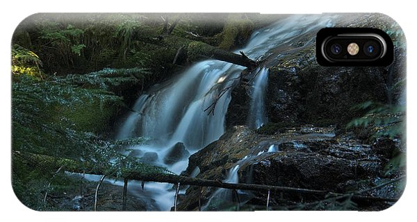 Forest Waterfall. IPhone Case