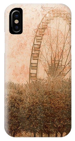 Paris, France - Forest Wheel IPhone Case
