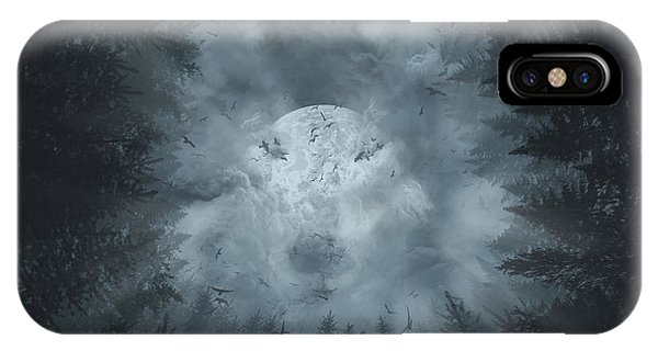 Forest Wolf IPhone Case