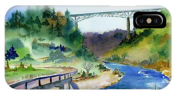 Foresthill Bridge #2 IPhone Case