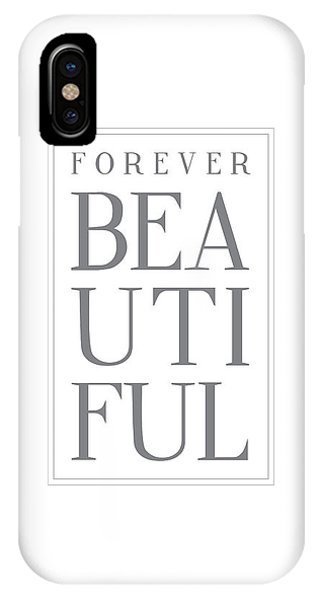 Thought iPhone Case - Forever Beautiful by Samuel Whitton