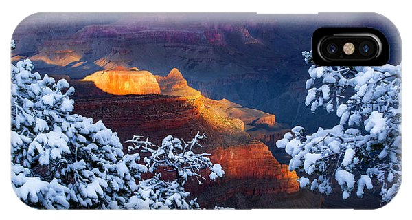 Us National Parks iPhone Case - Forever Grand by Mikes Nature
