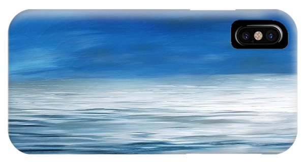 IPhone Case featuring the painting Forever Sea by Mark Taylor
