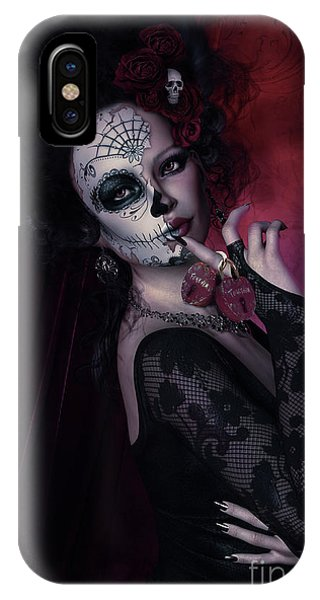 Gothic iPhone Case - Forever Together by Shanina Conway