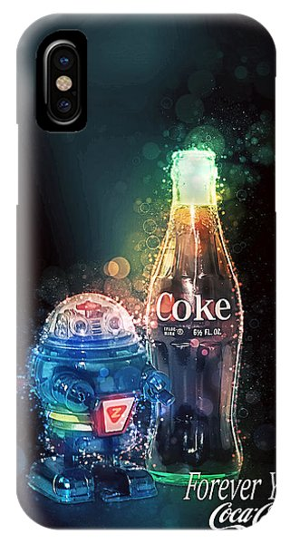 Forever Young Coca-cola IPhone Case
