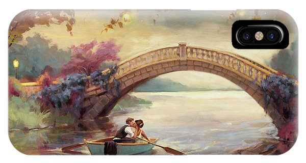 Arched iPhone Case - Forever Yours by Steve Henderson