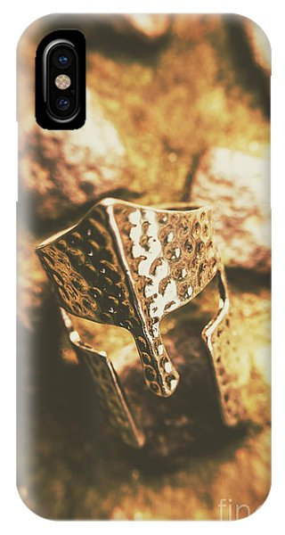 Armed iPhone Case - Forged In The Crusades by Jorgo Photography - Wall Art Gallery