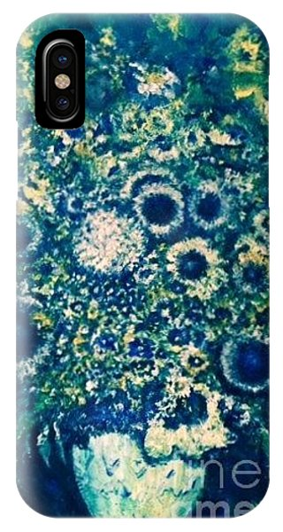 IPhone Case featuring the photograph Forget Me Knot by Laurie Lundquist