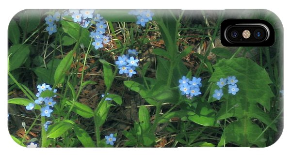 Forget-me-nots IPhone Case