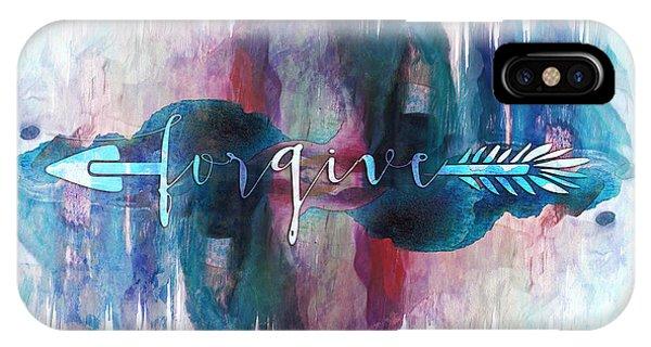 Forgive Arrow IPhone Case