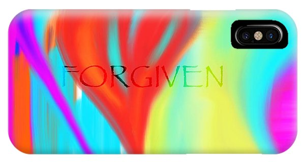 Forgiven IPhone Case