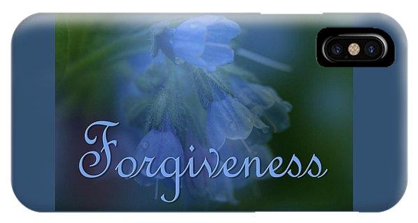 Forgiveness Blue Bells IPhone Case