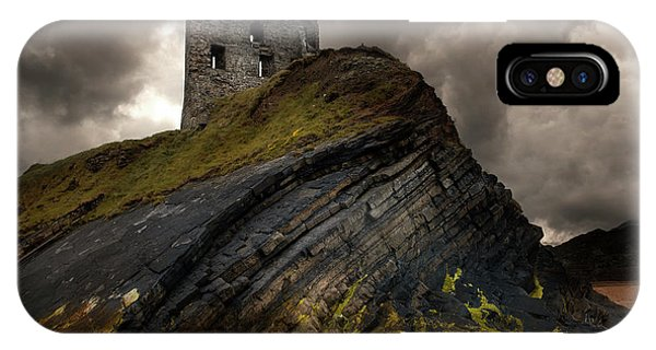 Forgotten Castle In Ballybunion IPhone Case
