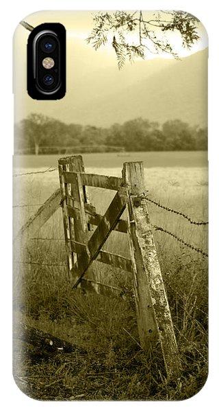 Landscape iPhone Case - Forgotten Fields by Holly Kempe