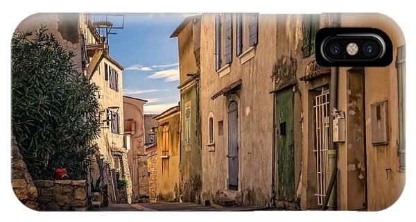 French iPhone Case - Forgotten French Street Alley Stories From The Road Series 001 by Design Turnpike
