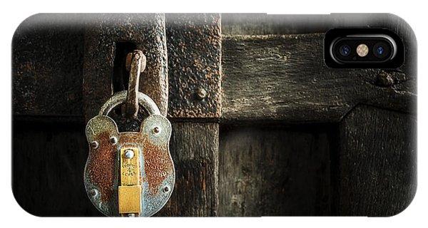Forgotten Lock IPhone Case