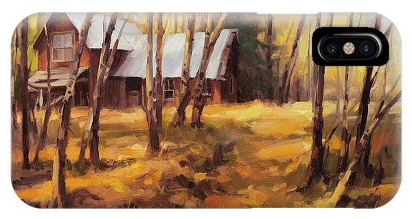 Ranch iPhone Case - Forgotten Path by Steve Henderson