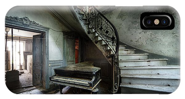 The Sound Of Decay - Abandoned Piano IPhone Case