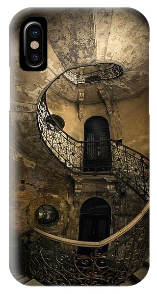 iPhone Case - Forgotten Staircase by Jaroslaw Blaminsky
