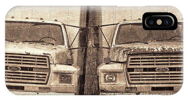 Trucking iPhone Case - Forgotten Trucks by Jeff  Gettis