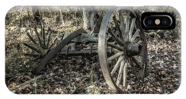 Cart iPhone Case - Forgotten Wagon by Tom Mc Nemar