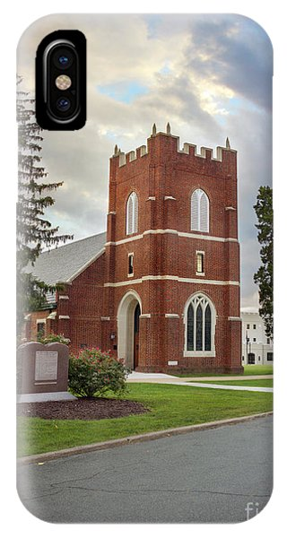 Fork Union Military Academy Wicker Chapel Sized For Blanket IPhone Case