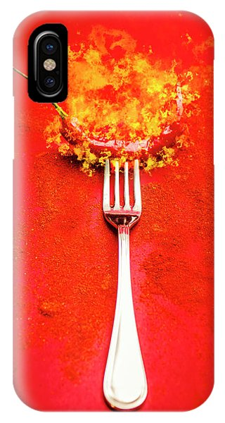 Fork iPhone Case - Forking Hot Food by Jorgo Photography - Wall Art Gallery