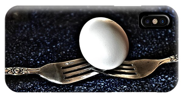 Forks And Egg Art IPhone Case