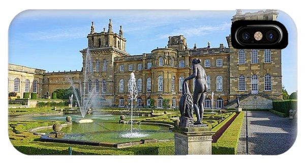 Formal Garden Blenheim Palace IPhone Case