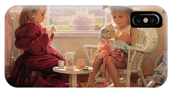 Oil iPhone Case - Formal Luncheon by Greg Olsen
