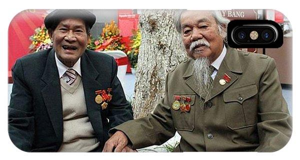 Political Prisoner iPhone Case - Former Political Prisoners In Hoa Lo by Jesper Staunstrup