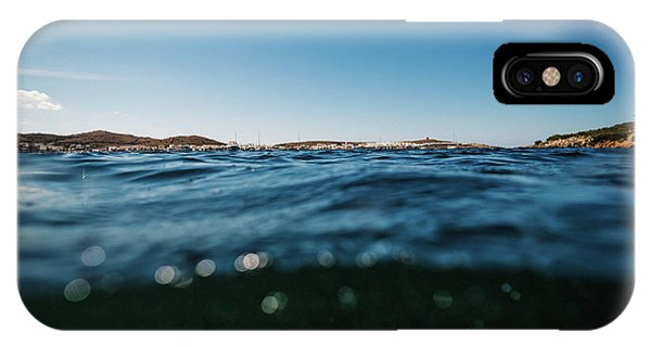 Fornells Bay IPhone Case
