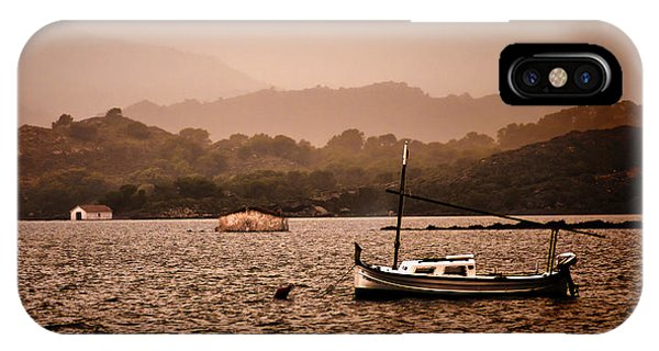 Fornells Bay In Menorca Island - Even Most Beautiful Places Have Secrets To Hide By Pedro Cardona IPhone Case