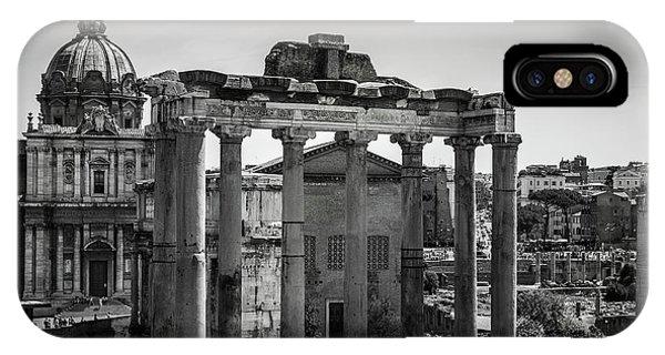 Foro Romano, Rome Italy IPhone Case