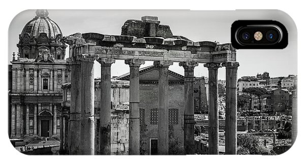 Foro Romano, Rome Italy IPhone Case