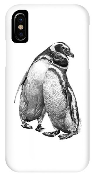 Forrest And Jenny The Penguins IPhone Case