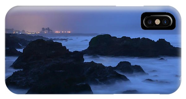 Fort Bragg Long Exposure Seascape I IPhone Case