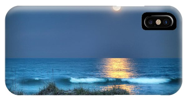 Fort Fisher Moonbeam IPhone Case